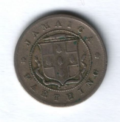 1 фартинг 1906 г. Ямайка