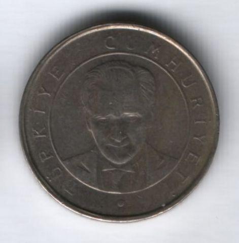 250000 лир 2002 г. Турция
