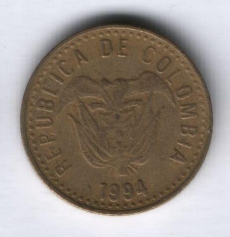 100 песо 1994 г. Колумбия