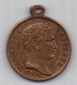 Медаль 1853 г. Наполеон I Бонапарт. Франция