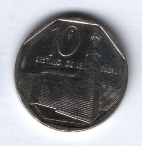 10 сентаво 1994 г. Куба