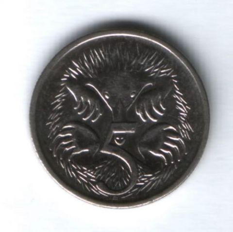 5 центов 2003 г. Австралия