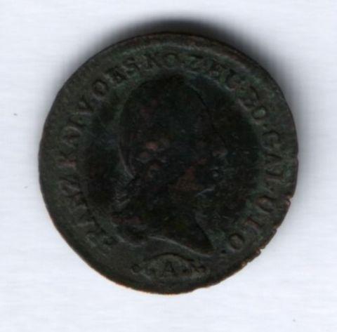 1/4 крейцера 1812 г. Австрия