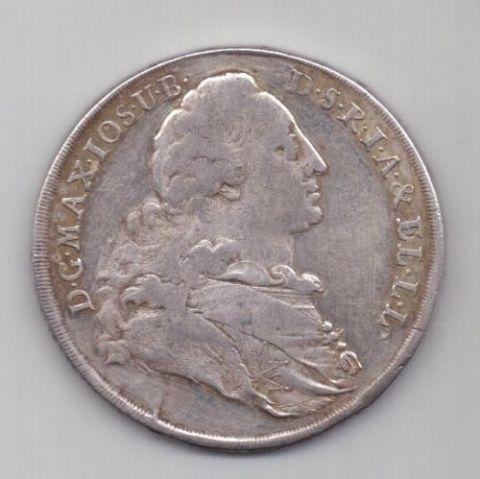 1 талер 1771 г. Бавария. Германия