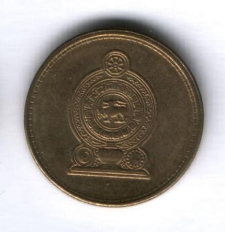 1 рупия 2011 г. Шри-Ланка