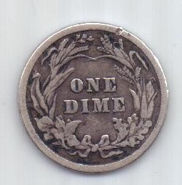 1 дайм 1916 г. США