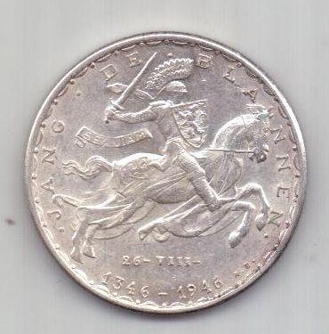 20 франков 1946 г. AUNC Люксембург
