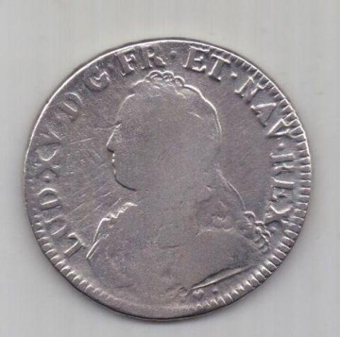 1 экю 1737 г. Франция