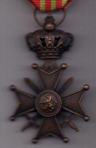 орден 1914-1918 г. AUNC Бельгия.