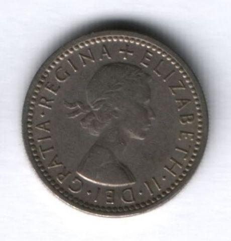 6 пенсов 1962 г. Великобритания