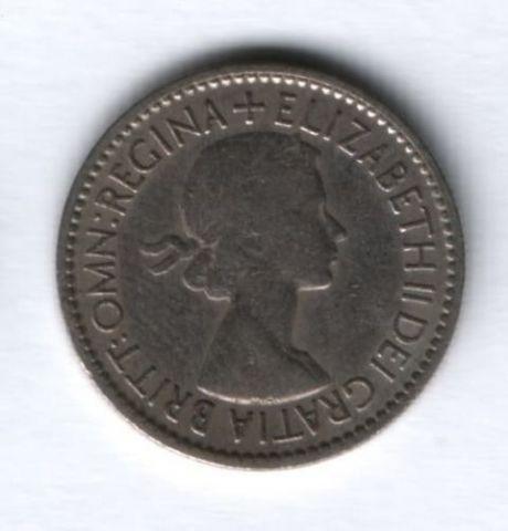 6 пенсов 1953 г. Великобритания