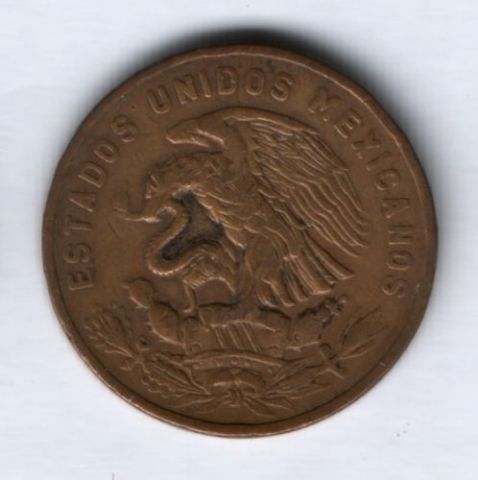 20 сентаво 1956 г. Мексика