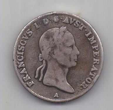 20 крейцеров 1832 г. Австрия