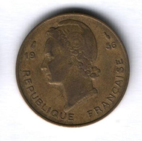 10 франков 1956 г. Французская Западная Африка